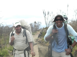 Day 2 - Guides Raymond & Kassim